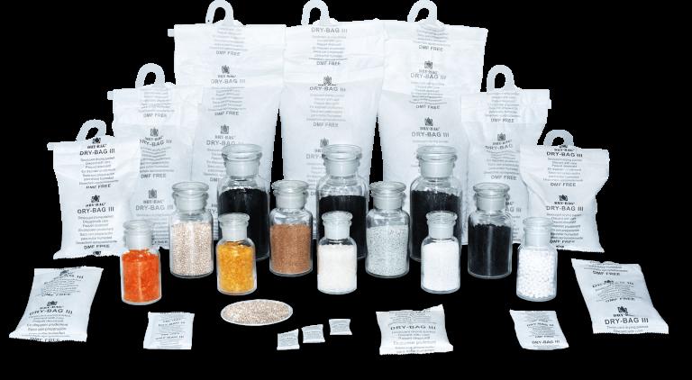 Pochłaniacze wilgoci w saszetkach i adsorbenty przemysłowe